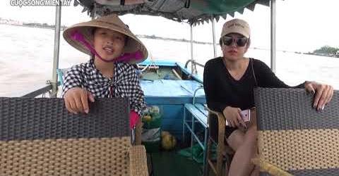 Toàn cảnh du lịch miền tây sông nước Tiền Giang - Bến Tre | Em gái miền tây đi du lịch sông nước