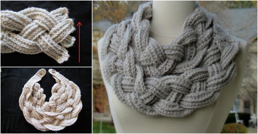 Double Layered Braided Cowl Free Crochet Pattern | How To Instructions