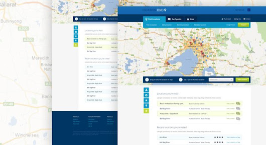 Location Find - free website template, free vectors - 365PSD.com