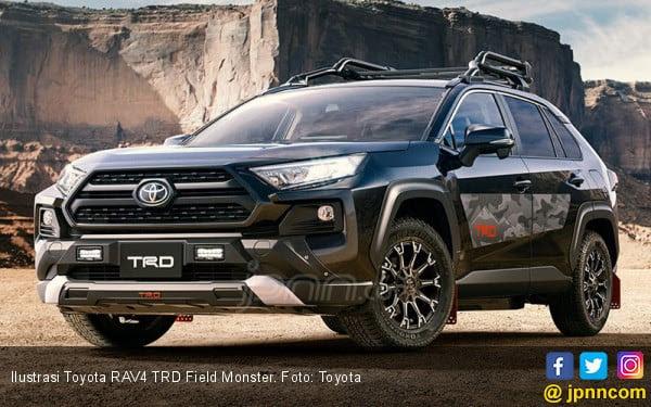 Paket Kustomisasi dari TRD dan Modellista Untuk Toyota RAV4 2019 - JPNN.COM