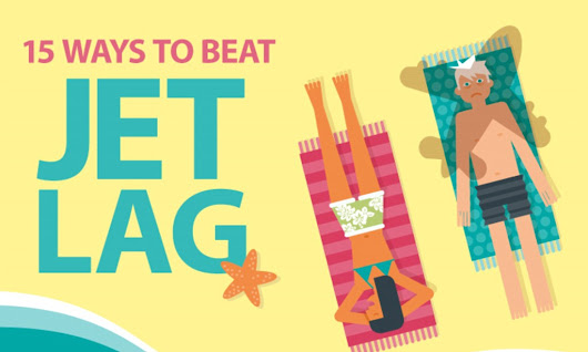Infographic reveals the top 15 ways to beat jetlag