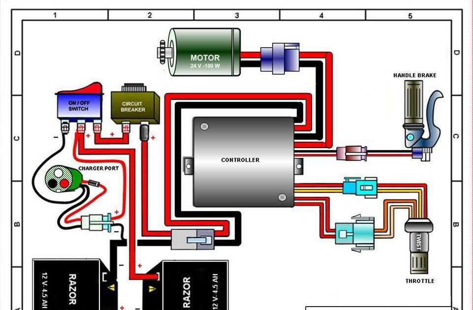 Electric Toy Car Wiring Diagram