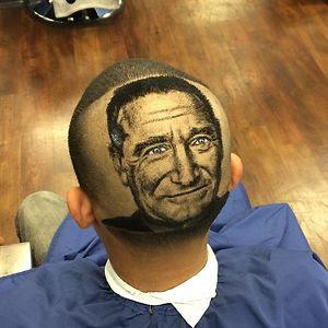 Robin Williams Haircut