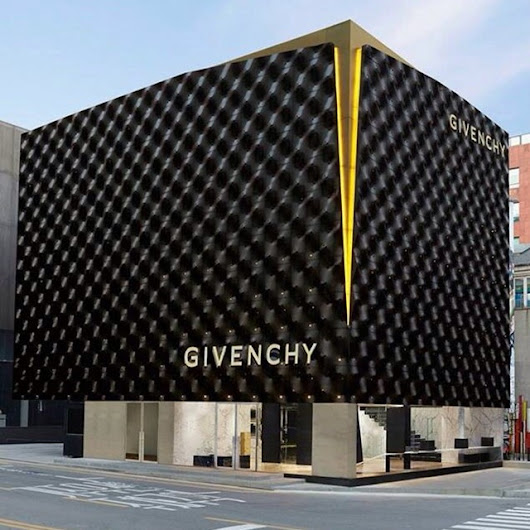 Givenchy New Stores In Korea and China | Retail Design | Design & Lifestyle Blog