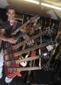 Beast six necked guitar