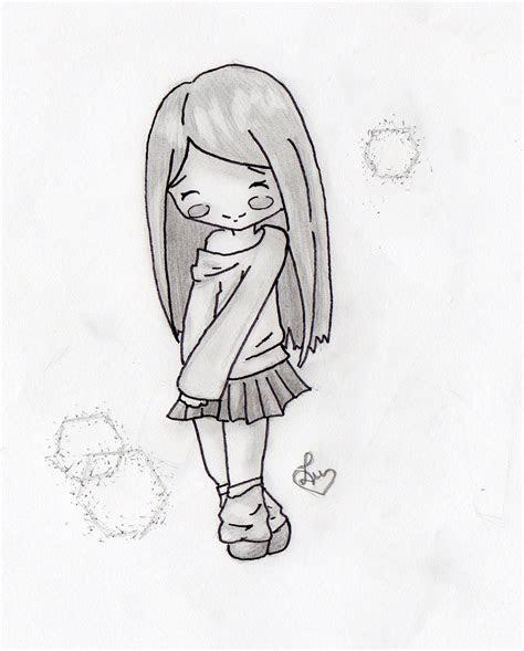 chibi girl anime drawing introducing