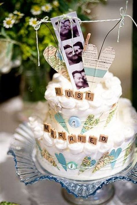 36 Beautiful Travel Themed Wedding Cakes   Weddingomania