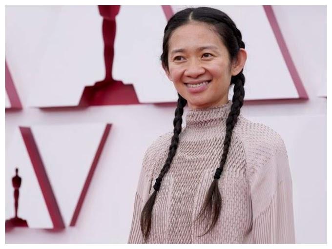 Chloe Zhao makes history with Oscars win