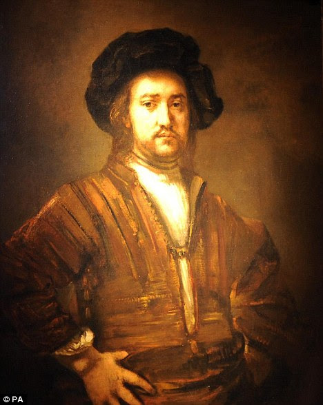 Portrait of a man, half-length, with his arms akimbo by Rembrandt which fetched £20,201,250, a world record price for the artist at auction, and the fourth highest price ever for an Old Master painting sold at auction