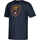 MLS petiteMLS Real Salt Lake Men's Short Sleeve Corner Kick Logo T-Shirt