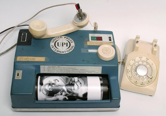 This is How Press Photos Were Transmitted Back in the 1970s