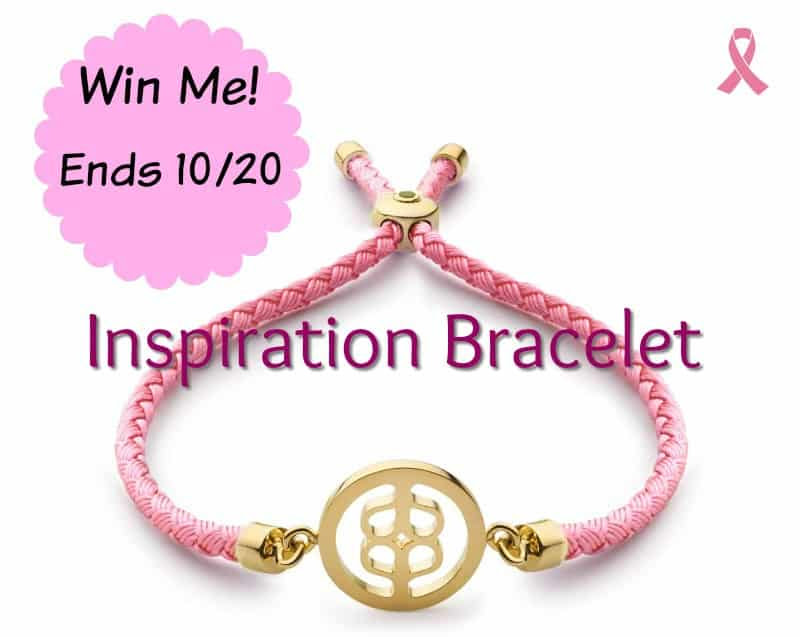 AWE Inspiration Bracelet, Breast Cancer Awareness
