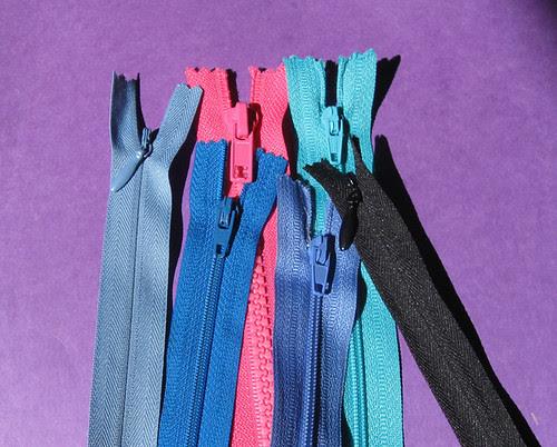 color zips