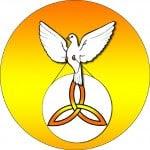 Spirit Trinity Dove Clip Art 06