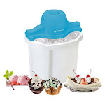 Mr. Freeze - 4-Quart Electric Ice Cream Maker - White