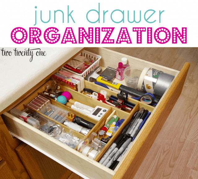 junk-drawer-organization