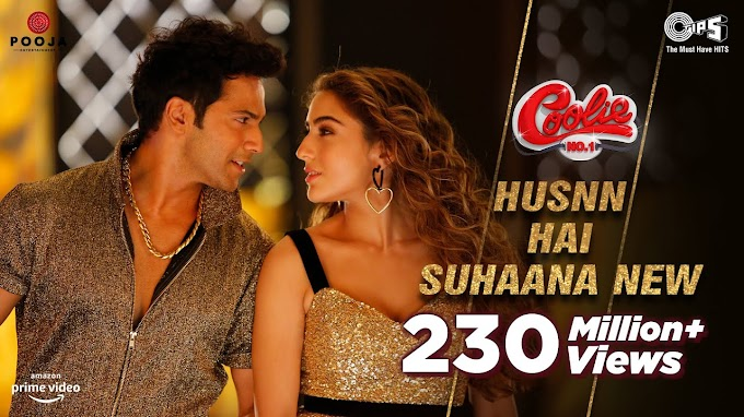 हुस्न है सुहाना Husn hai Suhana Lyrics | Coolie No. 1 - Varun Dhawan