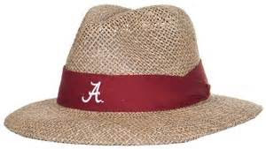nick saban alabama straw hat saban pinterest