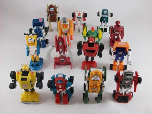 Transformers Minibots G1 modo robot