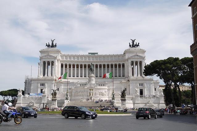 Il Vittoriano 維克多艾曼紐紀念堂