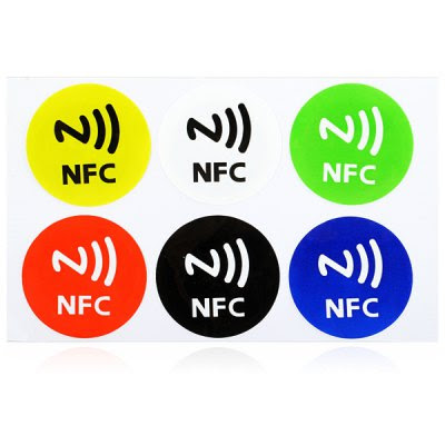 122806 6PCS Ntag 203 NFC Smart Tag Set Sticker Mifare Ultralight for NFC Cell Phones-4.79 and Free Shipping| GearBest.com