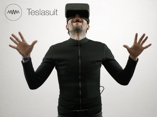 Teslasuit, A Full Body Haptic Feedback Suit Designed to Enhance a Virtual Reality Experience