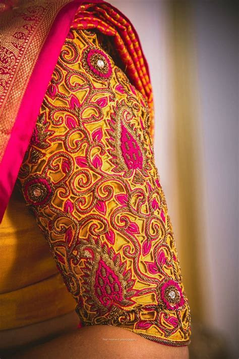 Pin by Sirisha Siri on Blouse designs   Bridal blouse