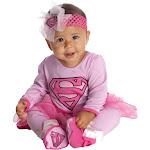 Supergirl Infant Onesie Costume