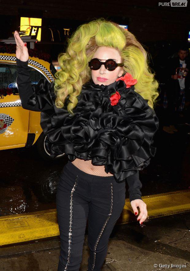 Sabe quem éStefani Joanne Angelina Germanotta? Lady Gaga!
