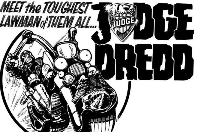 Judge Dredd advert