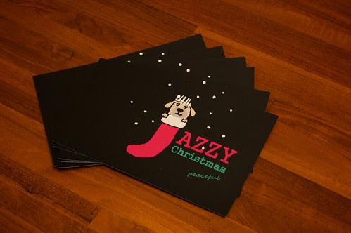 Jazzy Christmas Cards