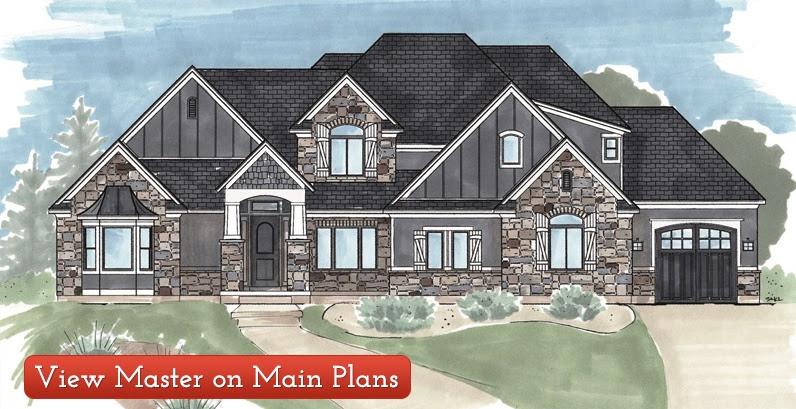 Custom Designed House Plans Utah Home Blueprints