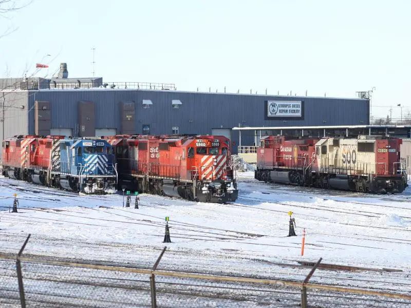 CP Winnipeg diesel repair facility