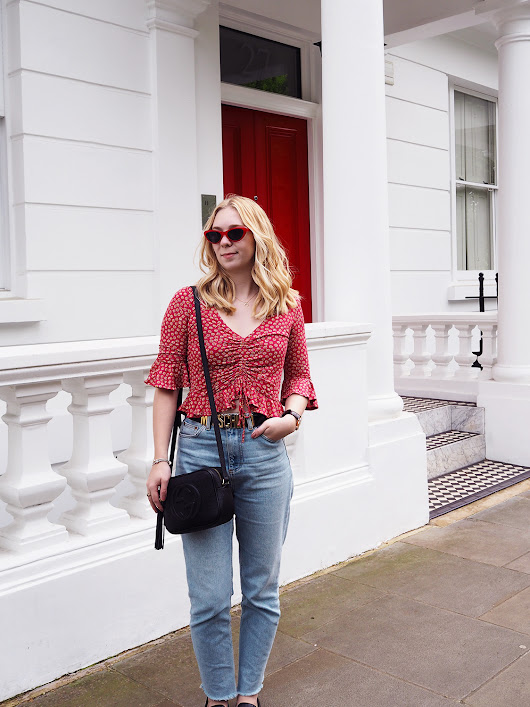 The Style Edit – All the Red – A Snippet of Life
