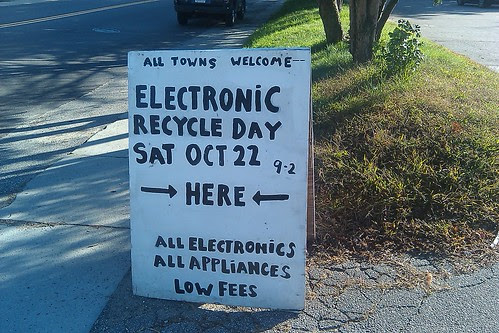 Electronics Recycling - Oct 22