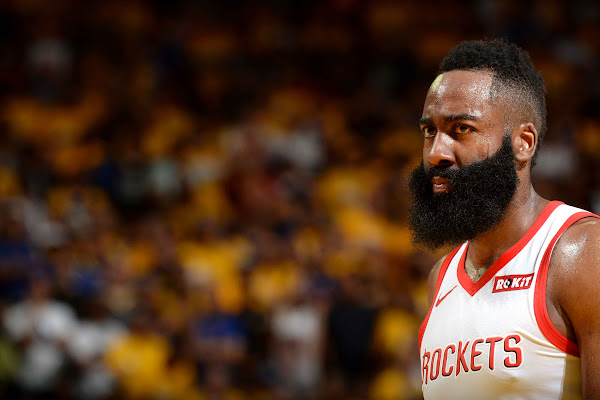 3f8592b1b4a8 Harden suffers lacerated left eyelid