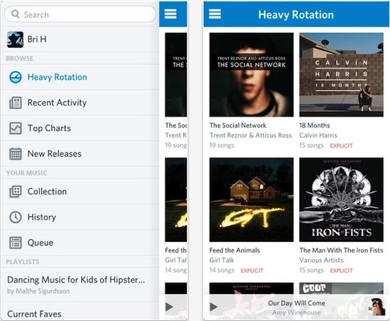 Rdio for iOS hits version 20 now with allnew design, unified player and more