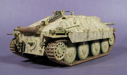 Building the Hetzer Tamiya #35285 1/35 scale
