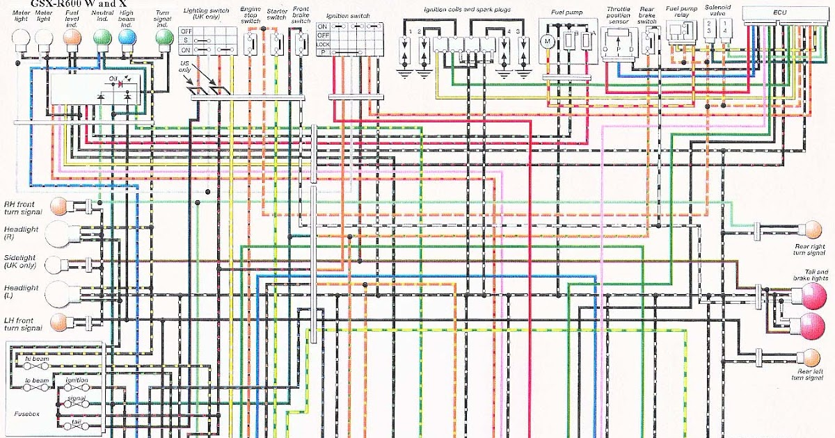 04 Gsxr 600 Wiring Diagram