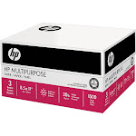 HP Ultra White Multipurpose Printer Paper, Letter, 20lb, 96-Bright, 3 Reams of 500 sheets