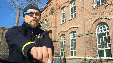 Tampere traffic wardens work quicker thanks to Google Glass app