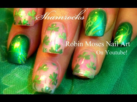 St. Patrick's Day Nail Art 2018 | Best St. Paddy Leprechaun Rainbow Nails