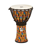 "Toca Freestyle Rope Tuned 9"" Djembe - Kente Cloth"