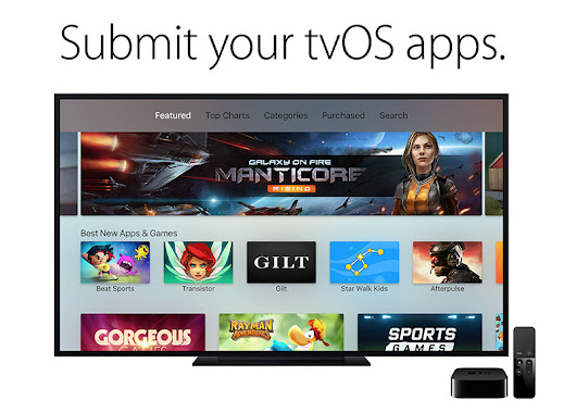 Apple calls for tvOS app submissions ahead of Apple TV sales launch