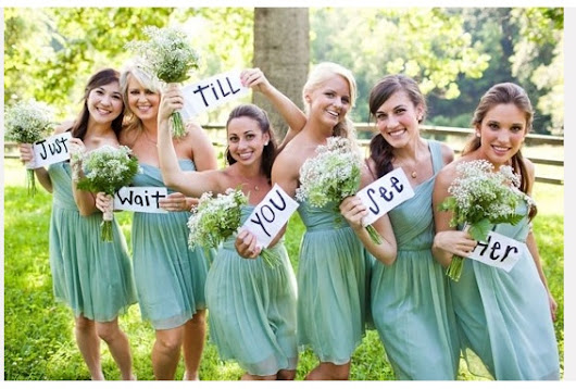 Image: Messages, Pictures and Green bridesmaid dresses on Pinterest