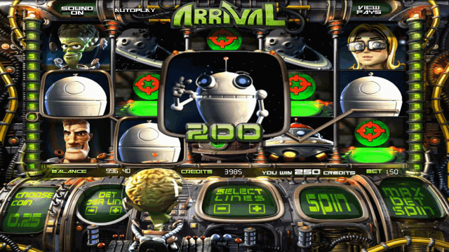 Игровой автомат d arrival прибытие букмекерская