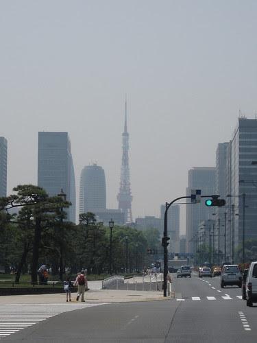 Tokyo Tower far away