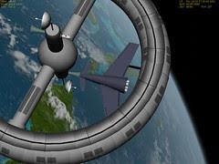 Colliers Rocket in Orbiter