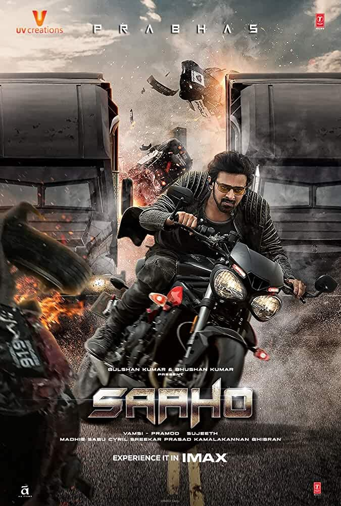 Saaho (2019) 720p HDRip Original Hindi Dubbed Full South Movie Download