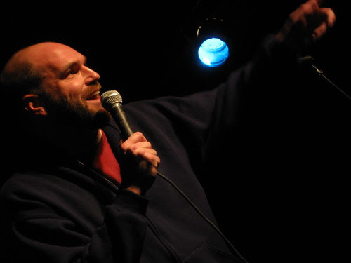 Chad Briggs at Chicago Underground Comedy Dec. 2, 2008